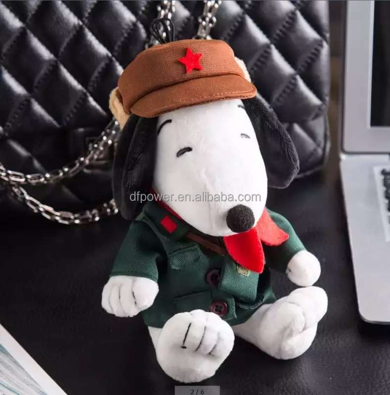 Cartoon Snoopy flush toy power bank