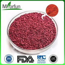 Low price of colorant red yeast rice 100% natural red yeast rice extract with certificate