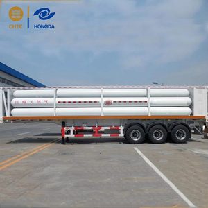 2018 new factory supply 6 tube CNG Tube Trailer