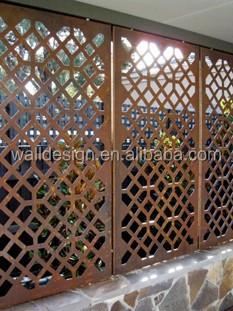 CNC Metal laser cutting decorative fence