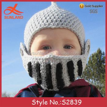 S2839 New Baby Kids Handmade Free Crochet Patterns Crochet Helmet