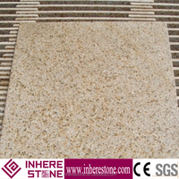 G682 rusty yellow fantasy granite, yellow granite stone