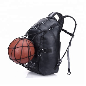 Wholesales Motorcycle Basketball Backpack, Waterproof 30L Dry Bag Backpack PVC Tarpaulin Backpack