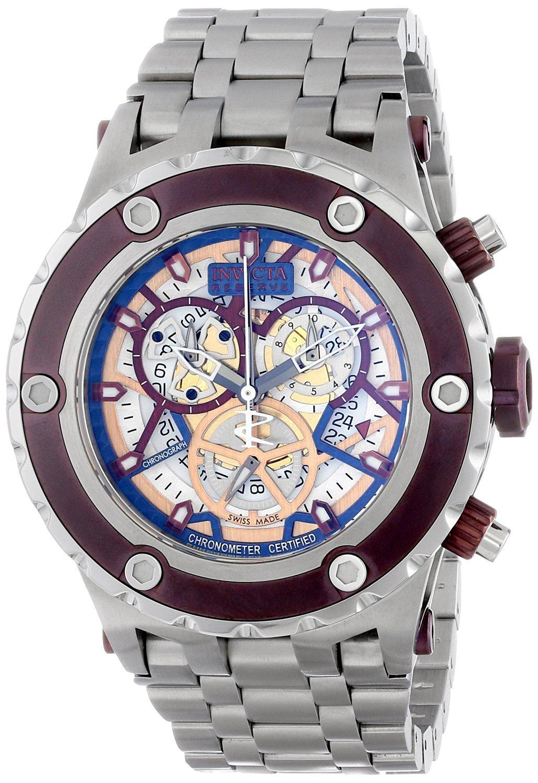 Invicta Men's 13743 Subaqua Analog Display Swiss Quartz Silver Watch