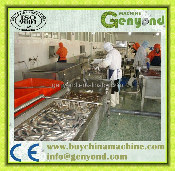 Complete Canned Sardines Production Line
