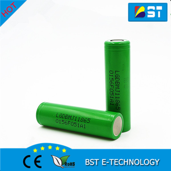 High Capacity 18650mj1 lg 18650 mj1 rechargeable electric bike battery 3500mah 10amp