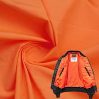 Cheap 380T Waterproof Ripstop 100% Nylon Fabrics Plain Weave Fabric Light Soft Taffeta Stocking Lining Fabric for Jacket
