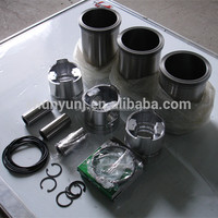 Jiangdong TY395 engine parts rebuild kits, TY395 engine cylinder- piston-pin-ring-water seal ring