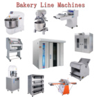 CE ISO Industrial bread making 64 tray automatic bread maker machine