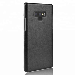4 Colors Durable Vintage Hard Leather Phone Case for samsung galaxy note 9 Back Cover for Male and Female