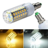 LED LIGHT CORN 5W 7W 8W 9W 12W E27 E14 LED Bulb 220V 110V 5730 SMDLEDs light Bulb 220V Chandelier lantern Solar Spotlight