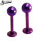 14 Gauge 316L Surigical Stainless Steel Labret with ball top