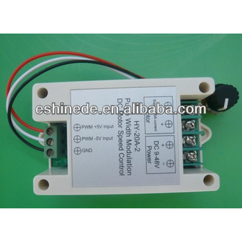 Pwm Dc Motor Speed Controller Support Frequency Input Control 0-5v Control  9v-48v - Buy Pwm Dc Motor Speed Controller,Dc Motor Speed Control