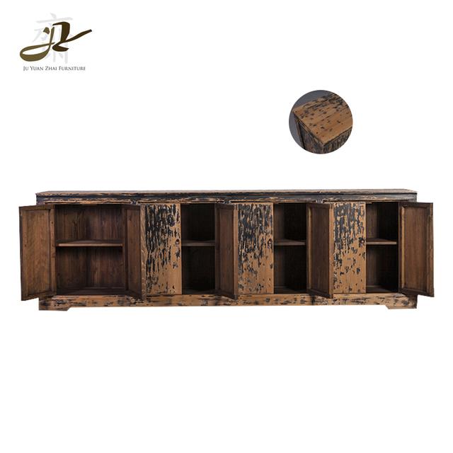 Antique French Industrial Furniture Kitchen Vintage Cabinet