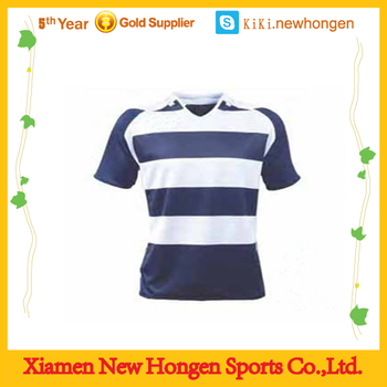 5a0a71896c Custom Design Sublimated Striped Rugby Jersey - Buy Striped Rugby ...