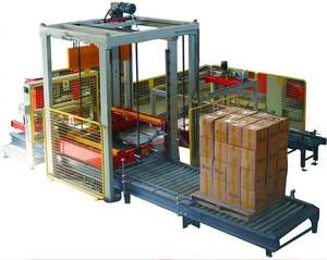 CE Approved Full Automatic Carton Case Palletizer