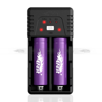 Efest BIO V2 multi-functional Li-ion/LiMn Universal Cylinder battery charger 2*18650 Smart Charger (US/EU/UK/AU plug)