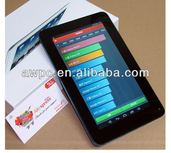 AWPC RK3168 DUAL CORE ANDROID TABLET PC WITH HDMI INPUT