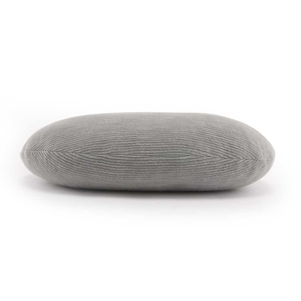 Nordic Style Stone Shape Shredded Memory Foam Throw Pillow Adjustable Foam Pillow