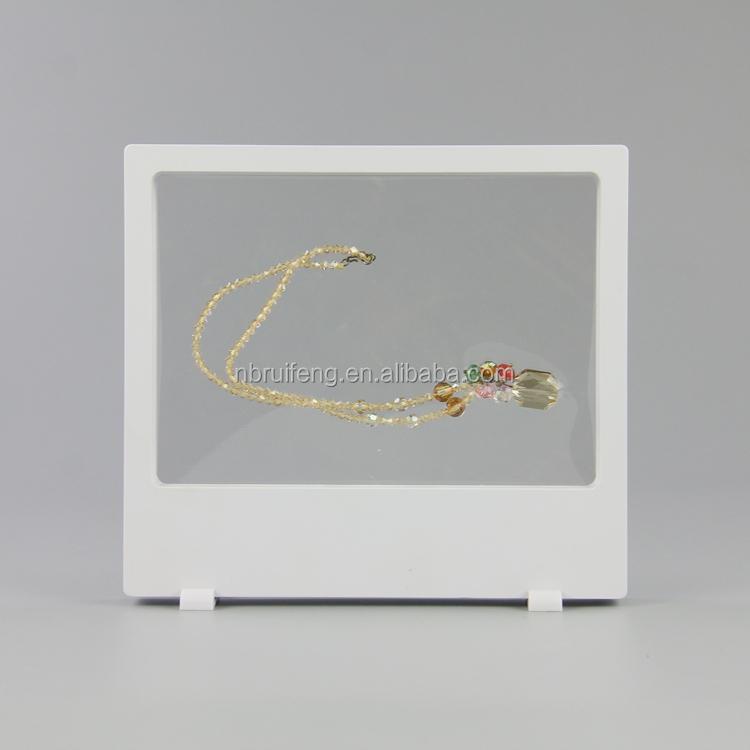 Marco de plástico membrana caja de exhibición de la joyería-Joyeros ...