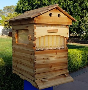 2018 Beehive factory supplies bee hive price bee honey auto flow hive for bees