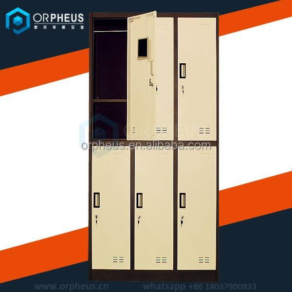 Chinese Furniture Wholesale Customized 6 Door Steel Locker