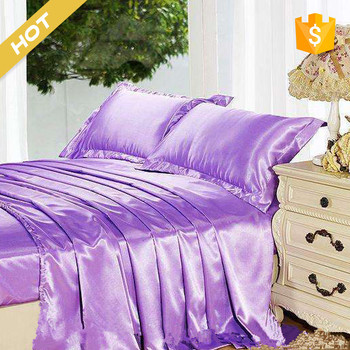 100% silk luxury design silk luxury bed sheet set