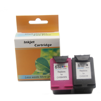 Ocbestjet Compatible For HP 61 Ink Cartridges For HP Deskjet 1000 (J110a) 1050 1051 1055 2000 (J210a) Printer