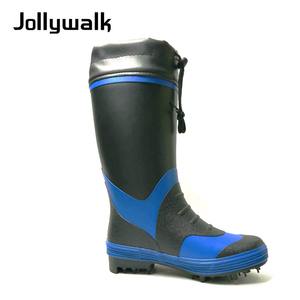 Hot sell men fishing boots rubber rain boot