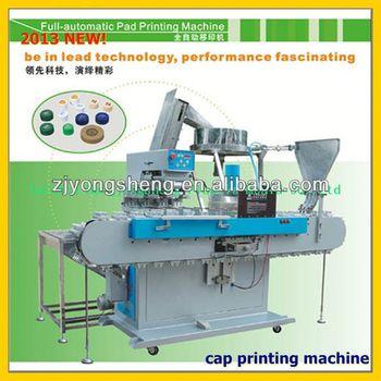caps printing machine