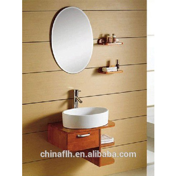 Corner Small Round Bath Vanity