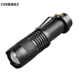 Wholesale Aluminum Mini Torch Waterproof 14500/AA Battery Rechargeable Military Zoom LED Flashlight