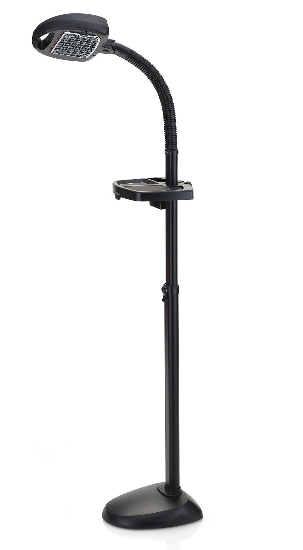 Verilux EasyFlex Natural Spectrum Deluxe Floor Lamp, Graphite