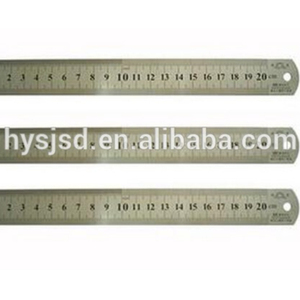 Hot sale custom measuring stainless steel ruler, metal ruler, measurement rulers