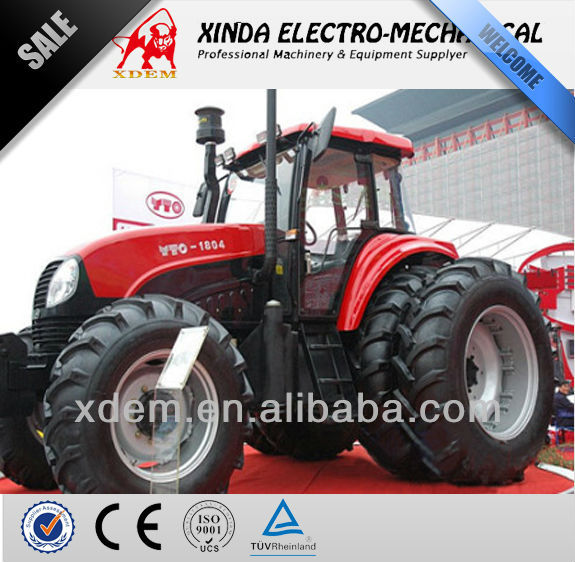 YTO 1804 China Cheap Price Brand 180hp Best Tractor for Farm