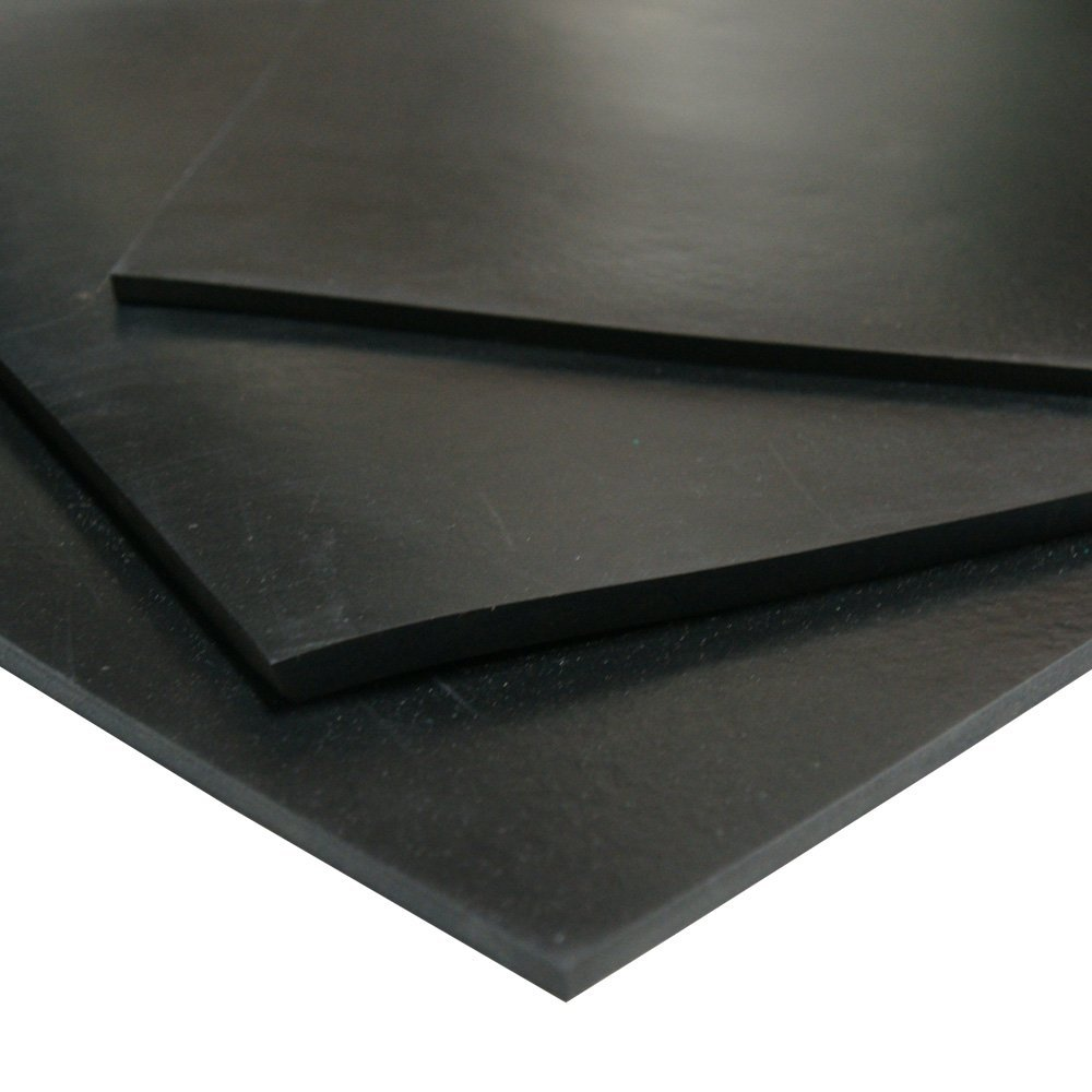 1//4 Thick x 36 Width x 12 Length Styrene Butadiene Rubber - Rubber-Cal Rubber Sheet /& Rolls SBR