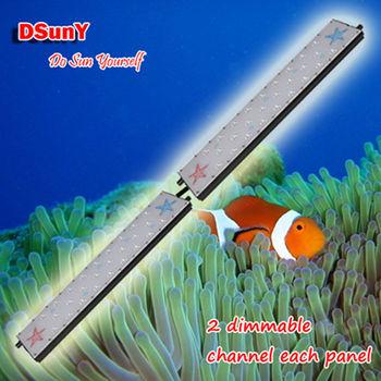 Dsuny New Freshwater Tank Light Manually Dimmable Led Aquarium ...