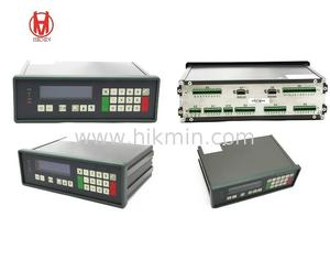Supply weighing belt feeder indicator controller conveyors