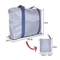 Capacity travel organizer foldable bag for daily life
