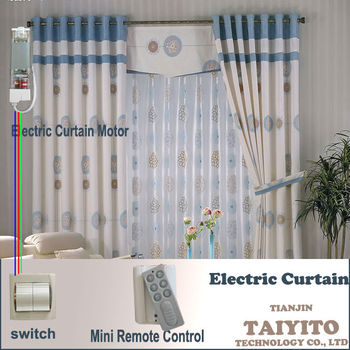 Home Automation Products, Electric Window Curtain, Remote Control Home  Curtain