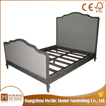 Custom made full size hout bed frame met <span class=keywords><strong>verlichte</strong></span> <span class=keywords><strong>hoofdeinde</strong></span>