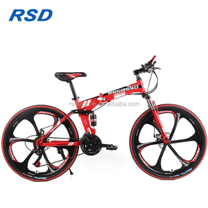 2018 factory price folding giant mountain bike mtb bicycle for men /China steel mountain bike/26 inch downhill mountain bike