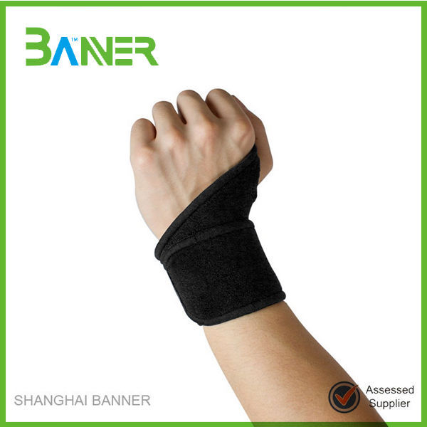 Weight lifting hand safe protection wrist sport neoprene palm support