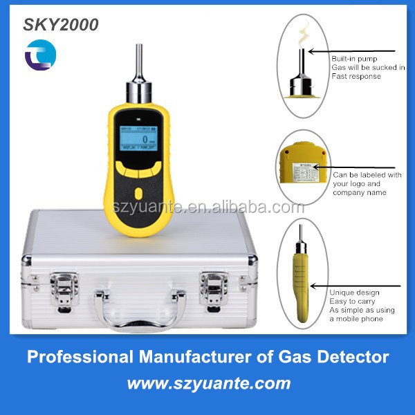 Portable type odor level gas meter detector 0-999ppm