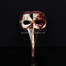 Wholesale plastic Venetian Man Masquerade Party Masks 2015,mask for Hallowmas