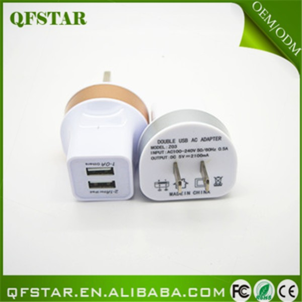 2015 factory price universal dual port stable ac power <strong>plug</strong>