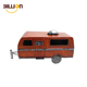 Home Decoration Iron Crafts Vintage Camper Ornaments Antique Metal Toy Car