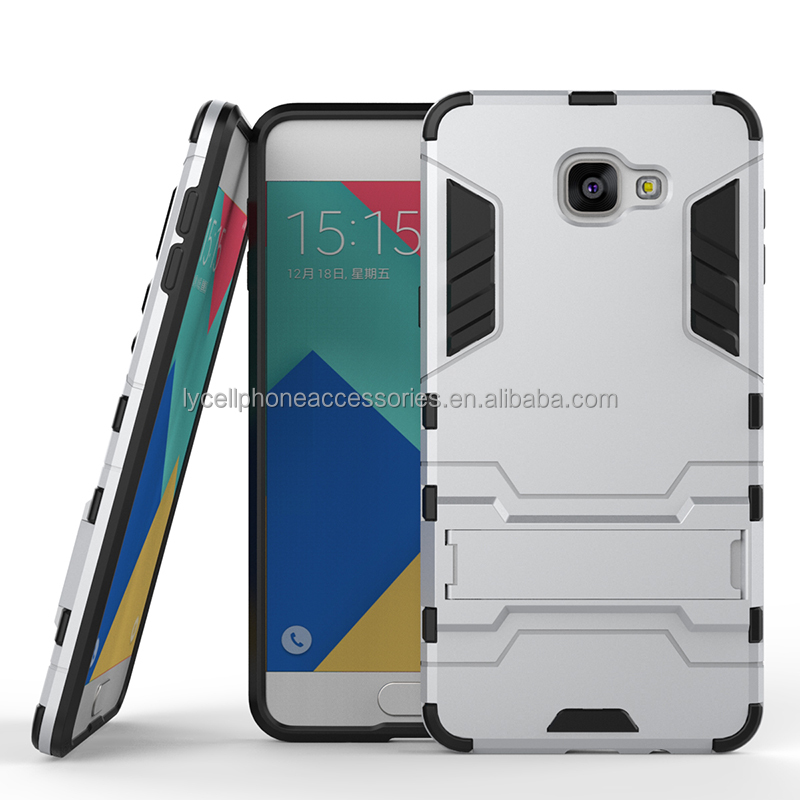 Iron Bear Shockproof Robot Armor Slim Rubber Silicone Hard Back Cover For Samsung A9