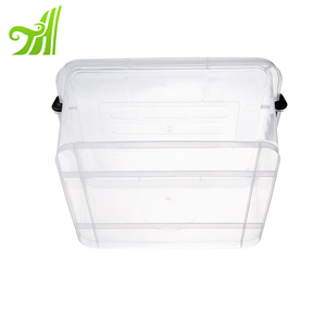 10L High quality and large capacity plastic decorative storage box