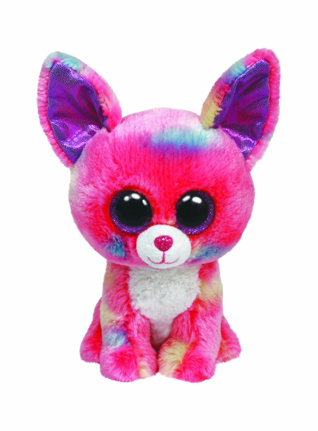 Buy Ty Beanie Boos Muffin Cat - Cancun Chihuahua Dog - Glamour Pink ... 751e12a6098
